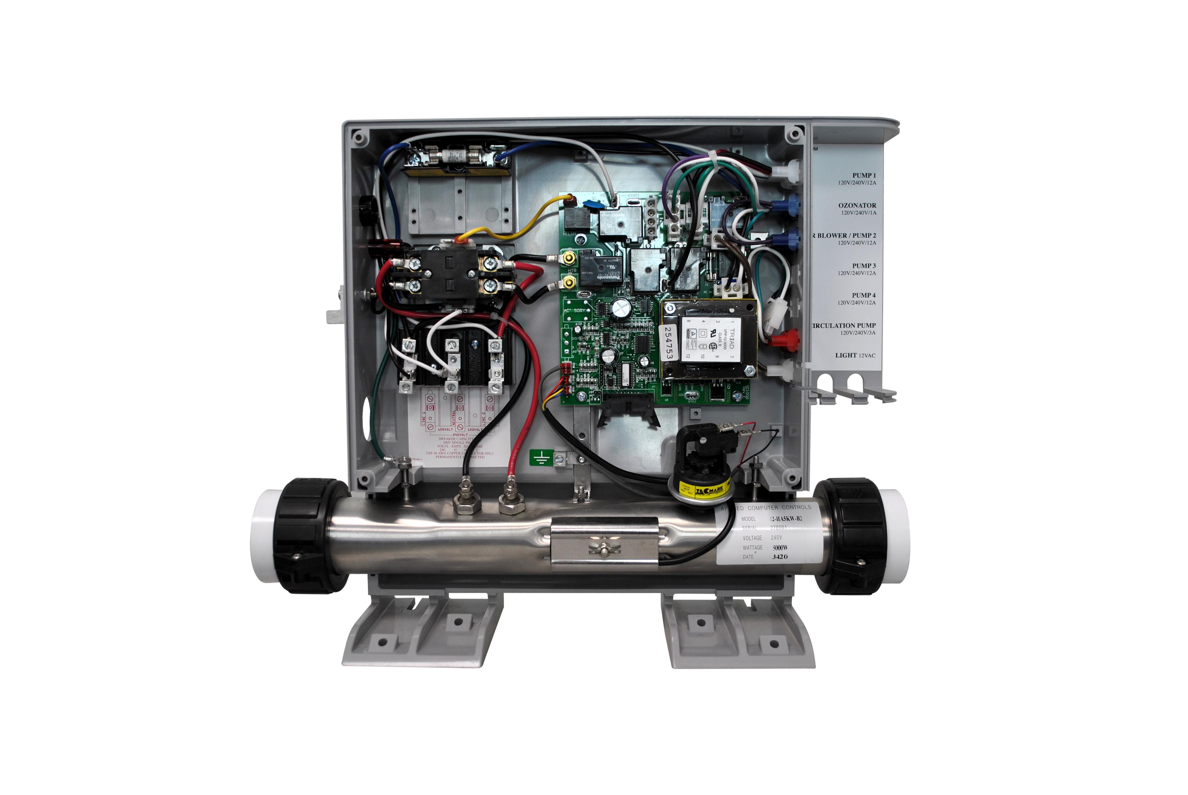 ACC Hot Tub Heater Internals
