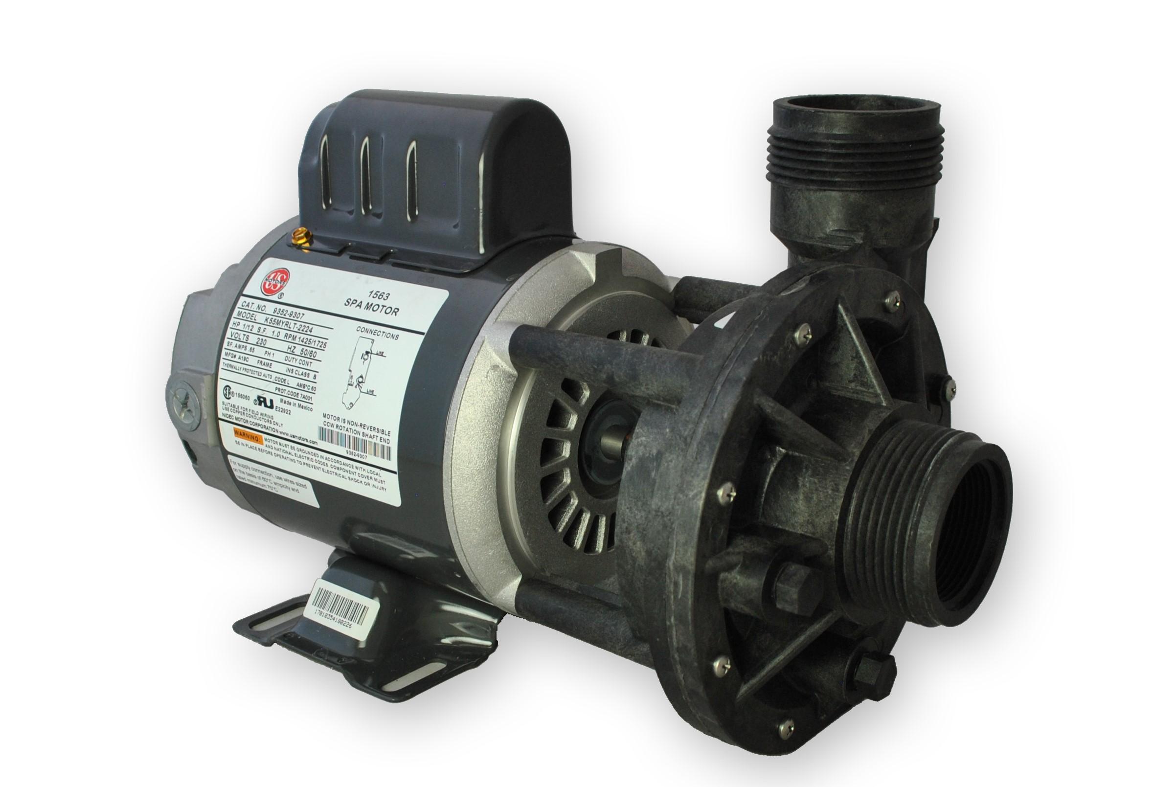 Gecko 1/12HP Aqua-Flo Circ-Master CMHP Circulation Pump 230V 1 Speed PN 02093001