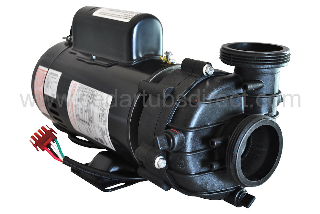vico 1 5 hp hot tub pump rh cedartubsdirect com Water Jet Propulsion Hot Tub Pumps