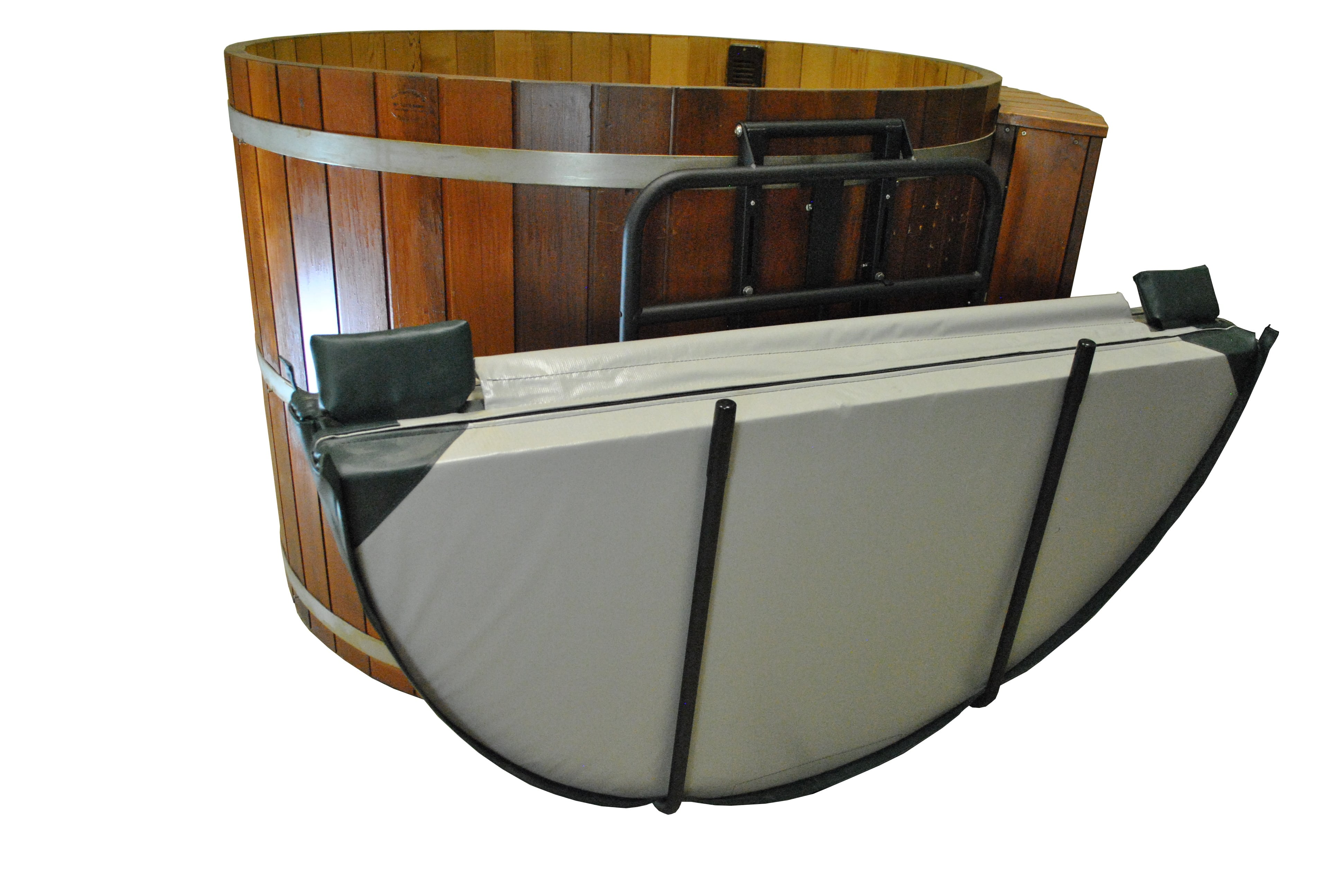 Hot Tub Cover Lifter - for wood tubs and swim spas [C-675] - $236.16 ...