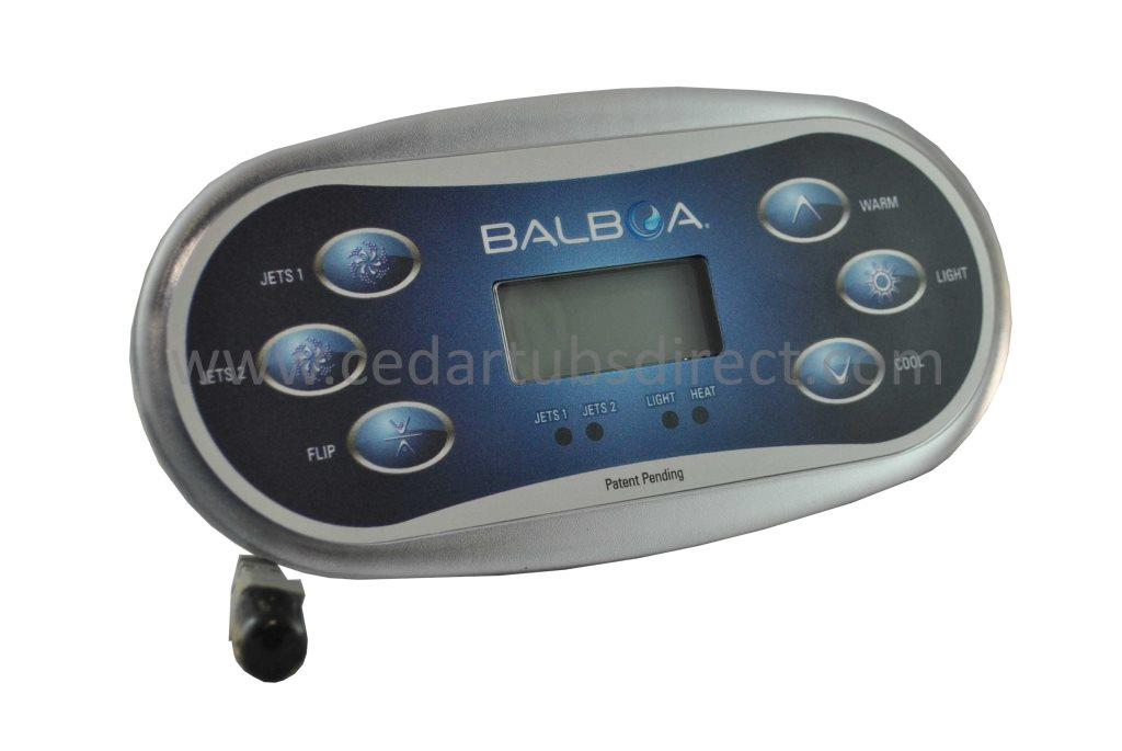 Balboa TP600 LCD 6-Button Panel PN 50056-06