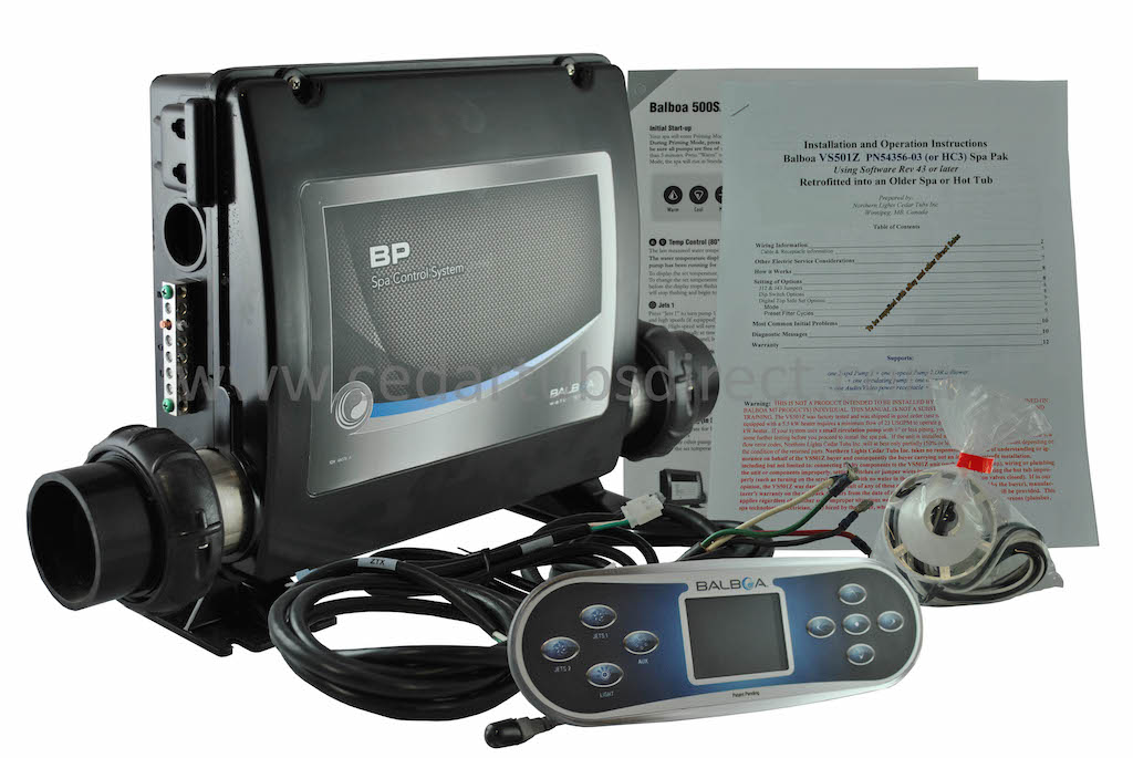 Balboa BP2000 Retro Fit Kit- - Spa Pack with TP800 Controller cables