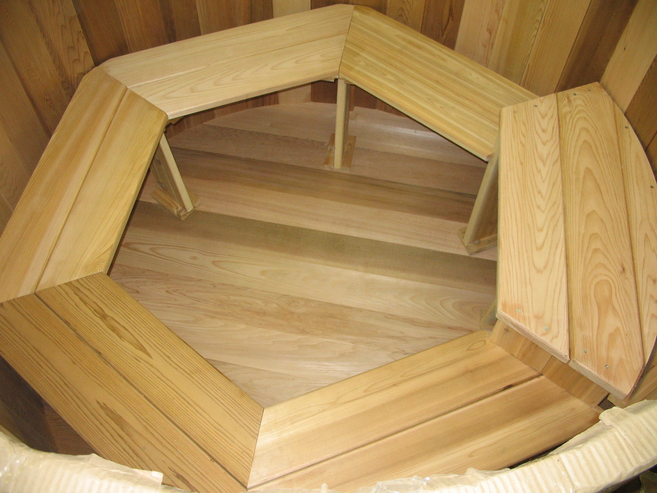 decorating size stairs full tub steps plans free hot cedar image of