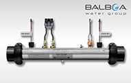 BalboaHeater Tubes Replacement heater elements for Balboa spa packs. 3 Kw, 4 Kw, 5.5 Kw.