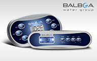 BalboaTop Side Controls Conveniently control your hot tub or spa with a controller for almost any Balboa spa pack.
