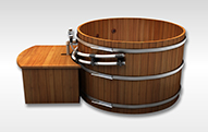 HotTubs The finest hot tubs made from Canadian Western Red Cedar.
